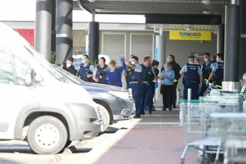 Suspected ISIS extremist killed after stabbing spree in New Zealand shopping centre