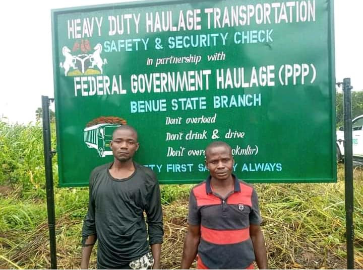 Two arrested for operating illegal revenue point in Benue