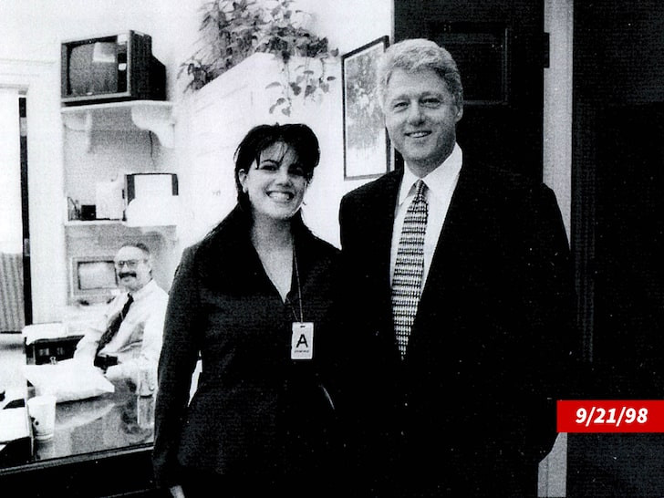 Monica Lewinsky who had an affair with Bill Clinton, says he should apologize to her even though she doesn