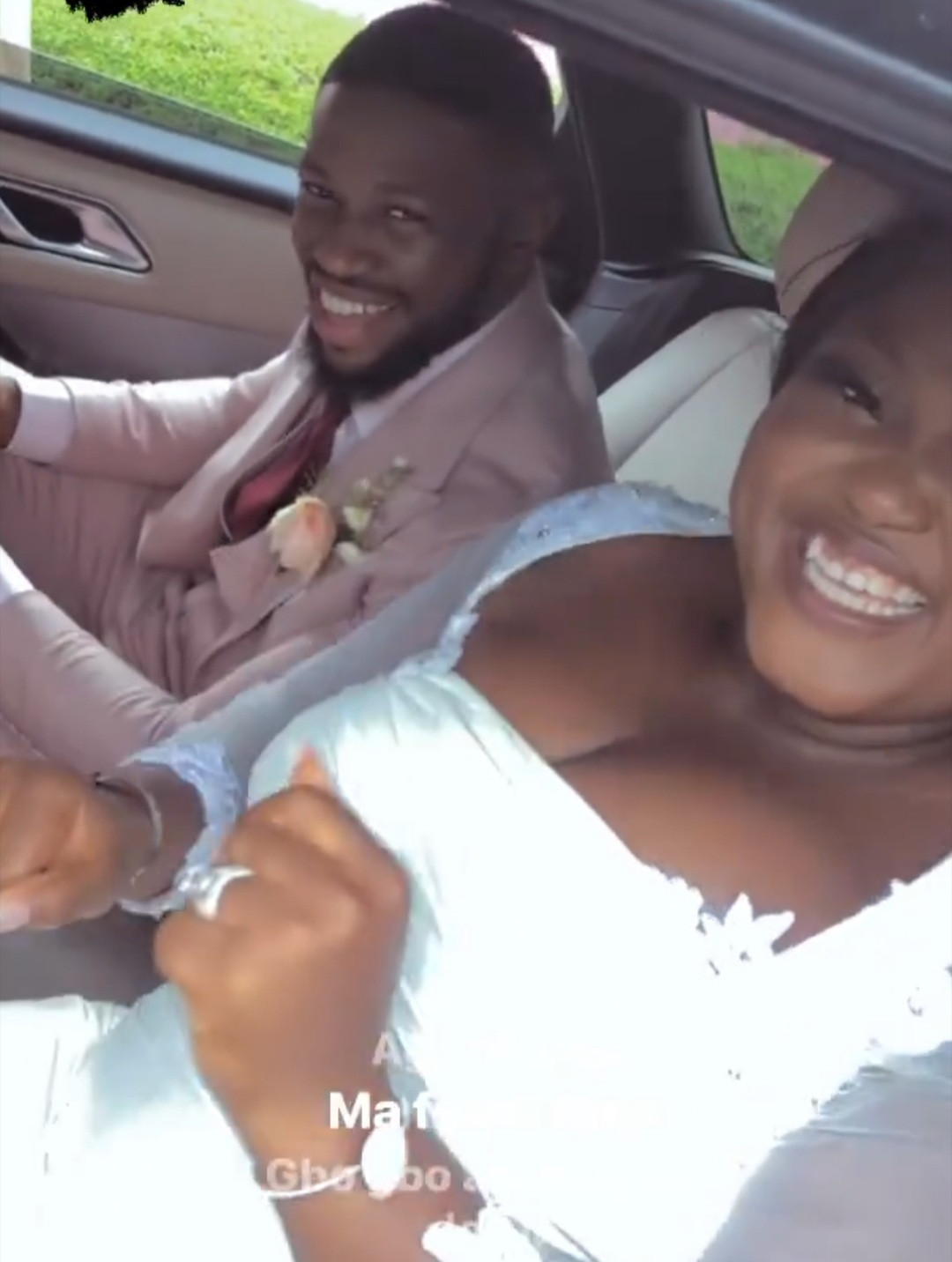 613d14752b3ab - Photos and videos from the wedding of actors Stan Nze and Blessing Obasi