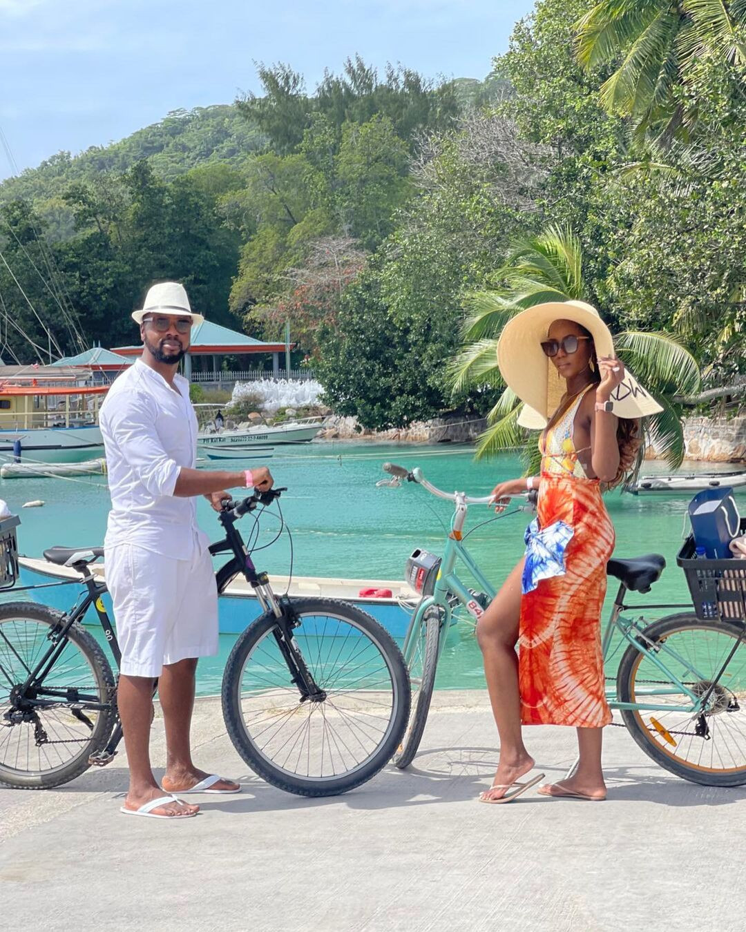 61409084a67fb - Media personality, Debola Williams and wife spend their honeymoon in Seychelles