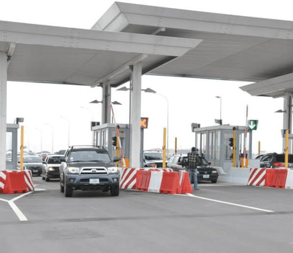 Lagos State repairs Lekki and Ikoyi tollgates after the state got permission to reopen the tollgates