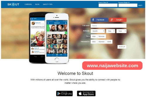 Www skout com log in