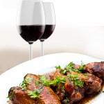 Wine & chicken