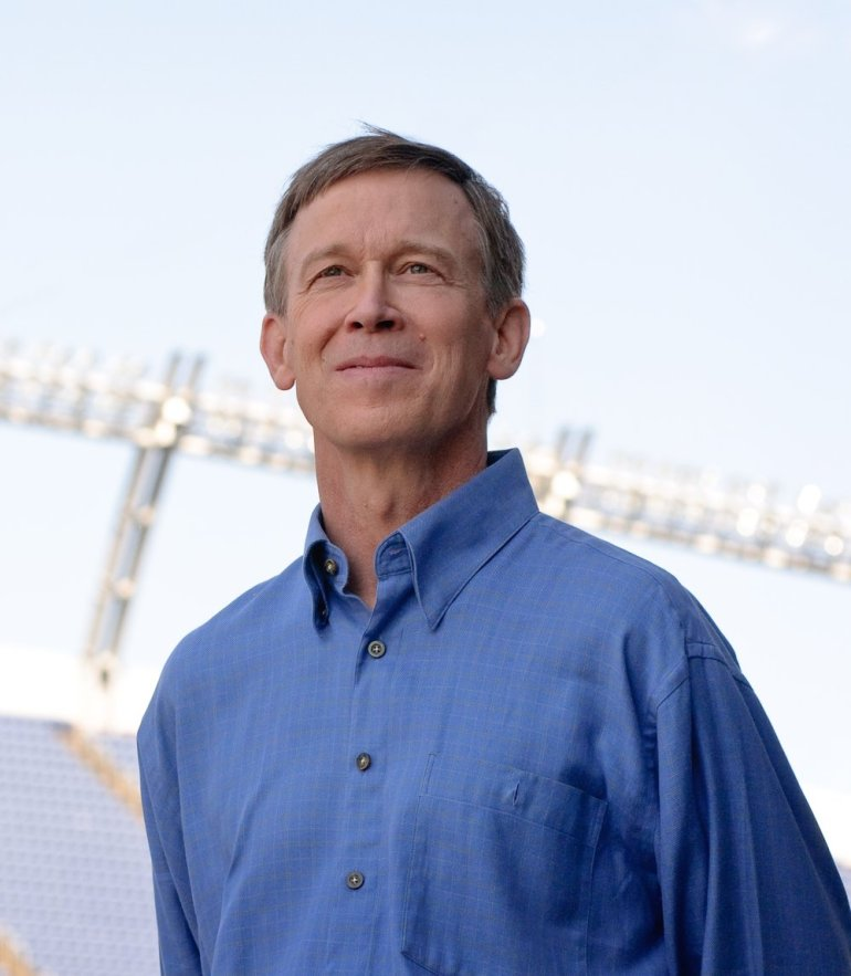 Hickenlooper, courtesy State of Colorado
