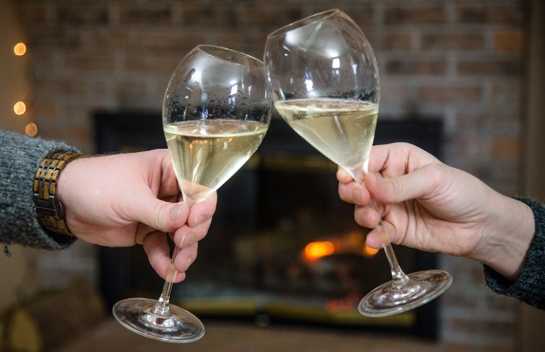 Toasting with Prosecco Superiore