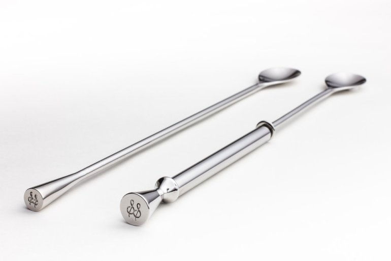 Aero & Wingman Cocktail Spoons