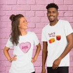 10 Hilarious (and Adorable) Wine Inspired Shirts You Need For Valentine's Day