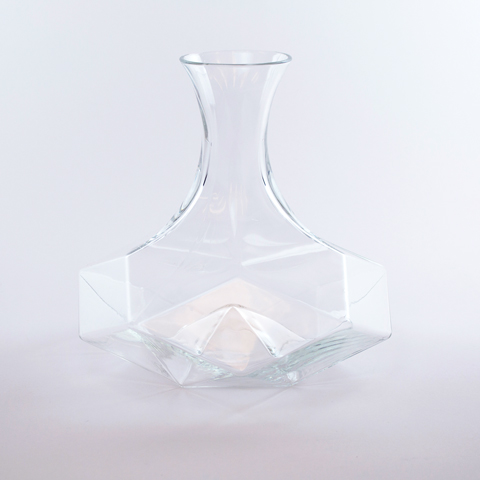 Geometric Crystal Wine Decanter
