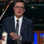 Watch: Stephen Colbert Demolishes Government Shutdown With Beer