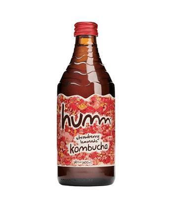Humm Kombucha Strawberry Lemonade