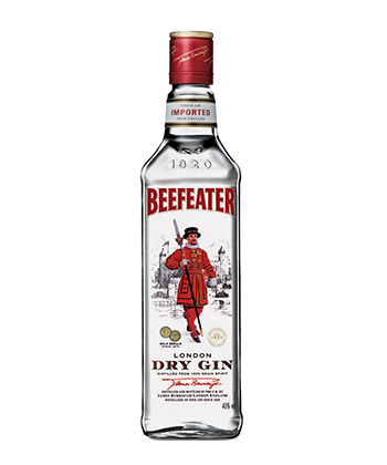 Beefeater is one of the best gins for 2019