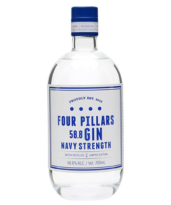 Four Pillars is one of the best gins for 2019