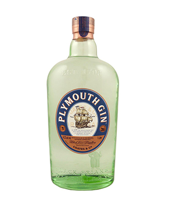 Plymouth is one of the best gins for 2019