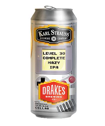 Karl Strauss x Drake Level 30 Complete Hazy IPA