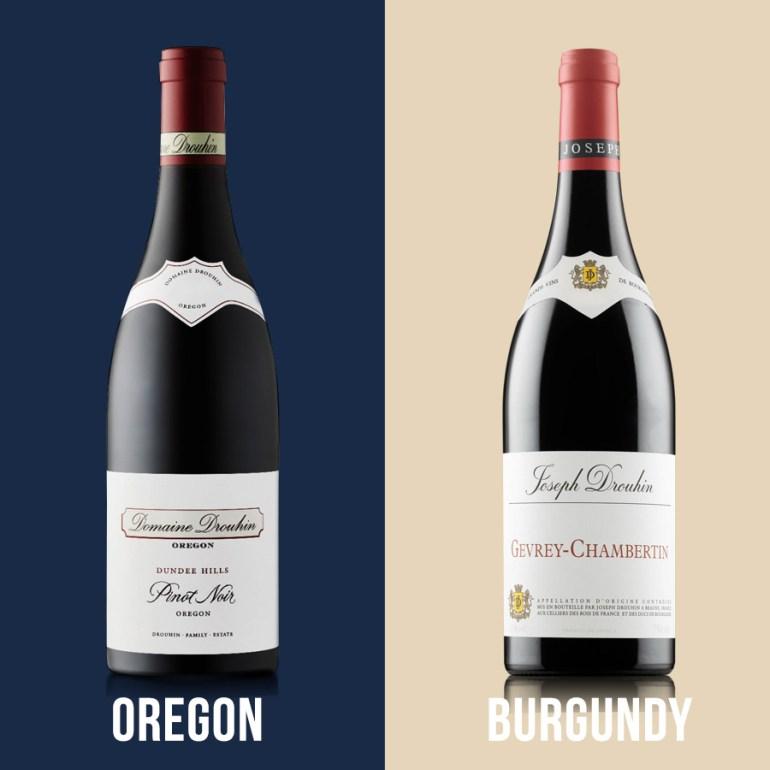 oregon-vs-burgundy-pinot-noir