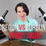 Oregon vs Burgundy Pinot Noir (Video Taste Test)
