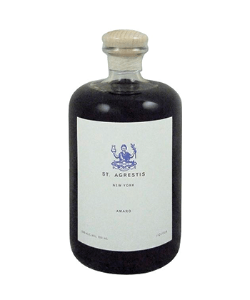 St. Agrestis is one of the seven best American amaro brands you can buy right now.