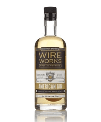 GrandTen Distilling Wire Works Special Reserve is one of the best barrel-aged gins