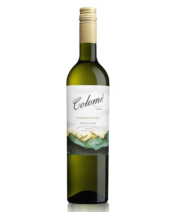 Bodega Colomé Estate Torrontés 2018 is a good wine you can actually find.
