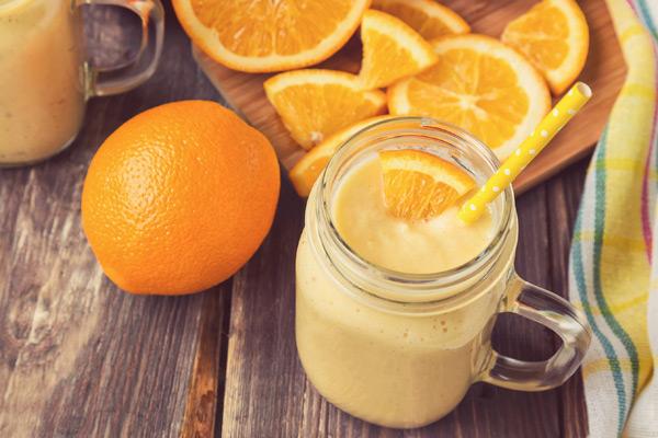 Orange Creamsicle shakeology smoothie