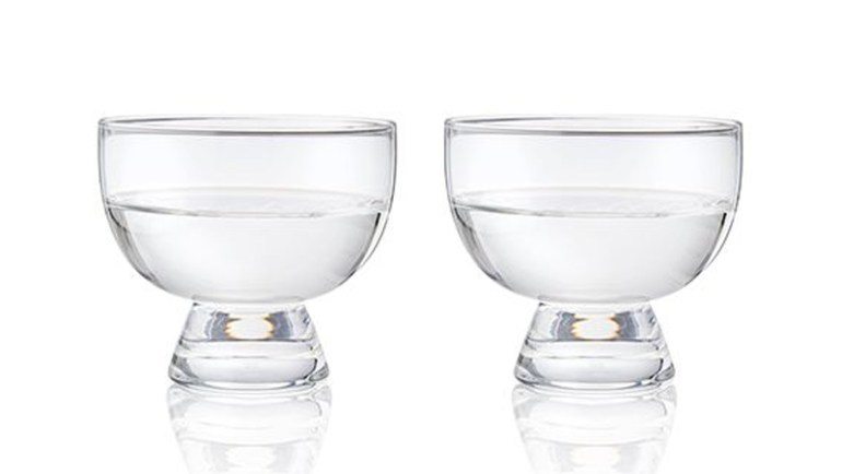 These lead-free crystal Mezcal copita glasses are the best way to drink mezcal.