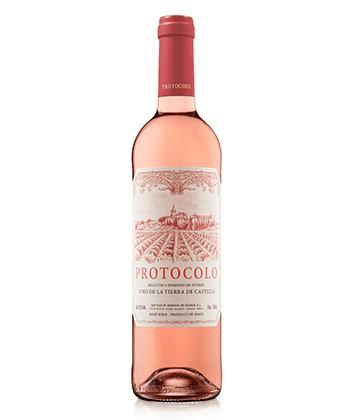 Dominio de Eguren Protocolo Vino Rosado de la Tierra de Castilla 2019 is one of the top 25 rosés of 2020.