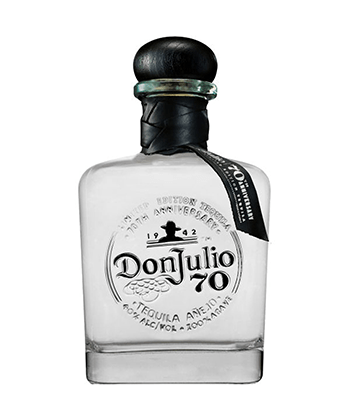 Don Julio 70 is one of the 30 best tequilas of 2020.