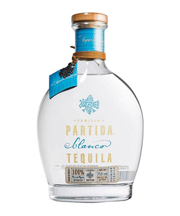 Partida Blanco is one of the 30 best tequilas of 2020.