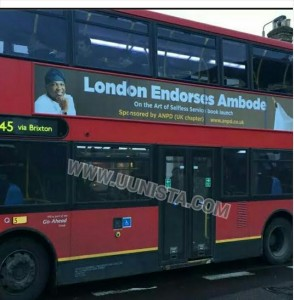 Ambo's on the bus!