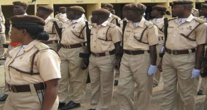 Officers of the Nigerian Immigration Service