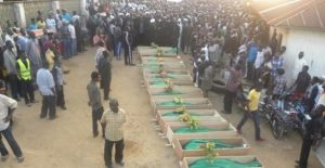 Bodies of hundreds of Shia Muslims killed by the military in Zaria