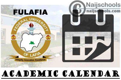 Federal University Lafia (FULAFIA) Adjusted Academic Calendar for 2020/2021 Academic Session   CHECK NOW