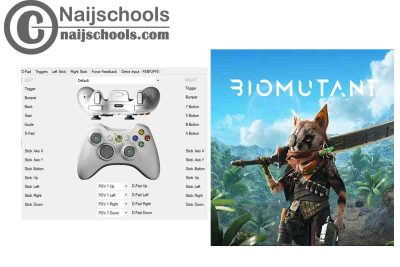 Biomutant X360ce Settings forAny PC Gamepad Controller | TESTED & WORKING