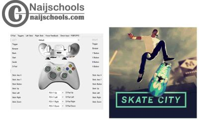 Skate City X360ce Settings for Any PC Gamepad Controller   TESTED & WORKING
