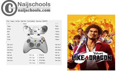 Yakuza: Like a Dragon X360ce Settings for Any PC Gamepad Controller | TESTED & WORKING