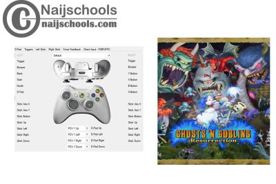 Ghosts 'n Goblins Resurrection X360ce Settings for Any PC Gamepad Controller   TESTED & WORKING