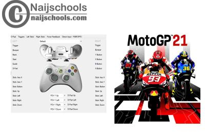 MotoGP™21 X360ce Settings for Any PC Gamepad Controller   TESTED & WORKING