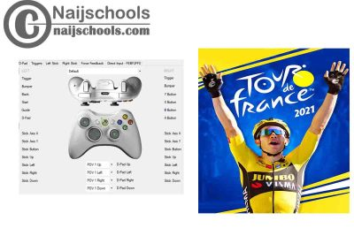 Tour de France 2021 X360ce Settings for Any PC Gamepad Controller   TESTED & WORKING
