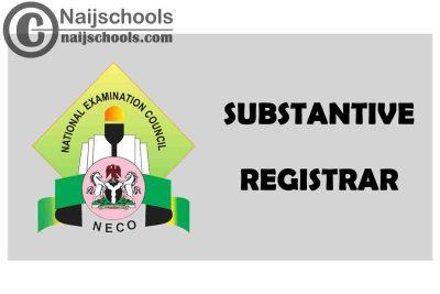 Professor Ibrahim Dantani Appointed as the New NECO Substantive Registrar | CHECK NOW