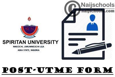 Spiritan University Nneochi (SUN) Post UTME & Direct Entry Form for 2021/2022 Academic Session | APPLY NOW