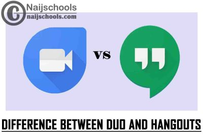 What is the Difference Between Google Duo and Google Hangouts? CHECK NOW