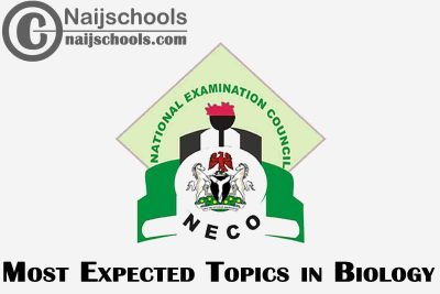 Most Expected Topics in 2021 NECO Biology SSCE & GCE | CHECK NOW