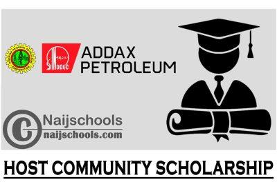 NNPC/Addax Petroleum Development Nigeria Limited 2021 Host Community Scholarship | APPLY NOW