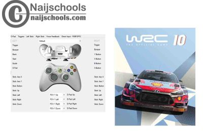 WRC 10 X360ce Settings for Any PC Gamepad Controller   TESTED & WORKING
