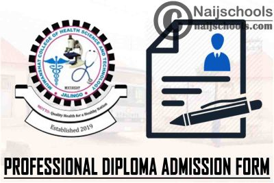 Muwanshat College of Health Science and Technology (MUCOHSAT) Professional Diploma Programme Admission Form for 2021/2022 Academic Session | APPLY NOW