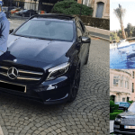 Sharaf Mahama displays new wild cars; chills madly in Belgium in latest photos