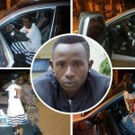 One corner pays : Patapaa Amisty acquired his first ever brand new car and flexing with it in town  ©