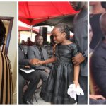 Tears Flows As Kennedy Agyapong Cries And Hug His Crying Little Daughter At Her Mum's Burial.