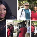 Actress Maame Serwaa Makes First Appearance On BBC